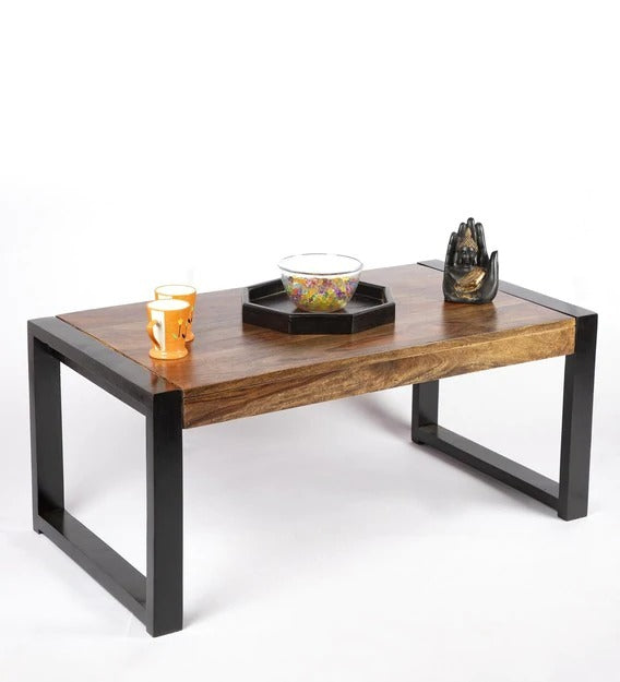 Detec™ Coffee Tables - Teak Finish