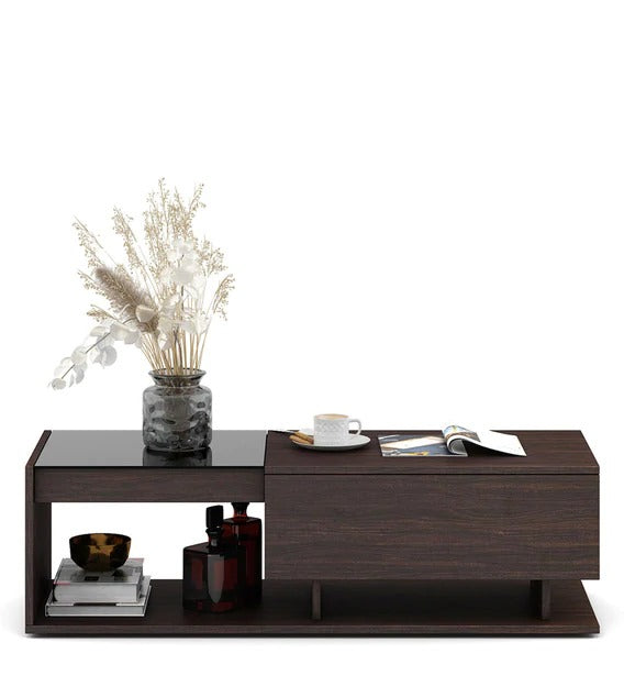 Detec™ Coffee Table In Choco Walnut Finish