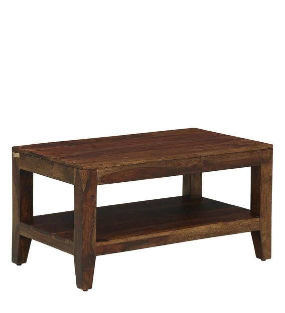 Detec™ Solid Wood Coffee Table 2 Different Finish