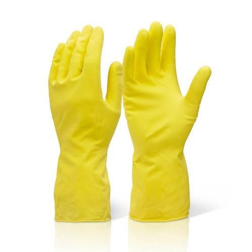 Detec™ House Hold Hand Gloves For Washing Cleaning Washroom Kitchen