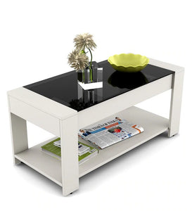 Detec™ Coffee Table - Frosty White Finish