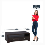 Load image into Gallery viewer, Detec™ Coffee Table - Charcoal Oak Finish
