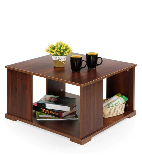 Detec™ Coffee Table - Walnut Brown Color