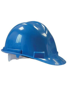 Blue Labour Safety Helmet, Construction