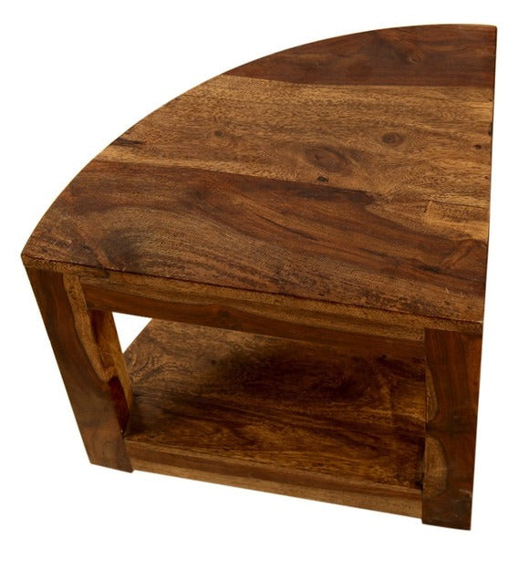 Detec™ Coffee Table With Stools - Honey Finish