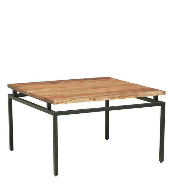 Detec™ Solid Wood Nesting Coffee Table Set - Natural Acacia Finish