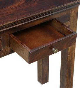 Detec™ Solid Wood Console Table - Provincial Teak Finish