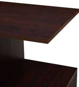 Detec™ Study Table - Walnut Brown Color