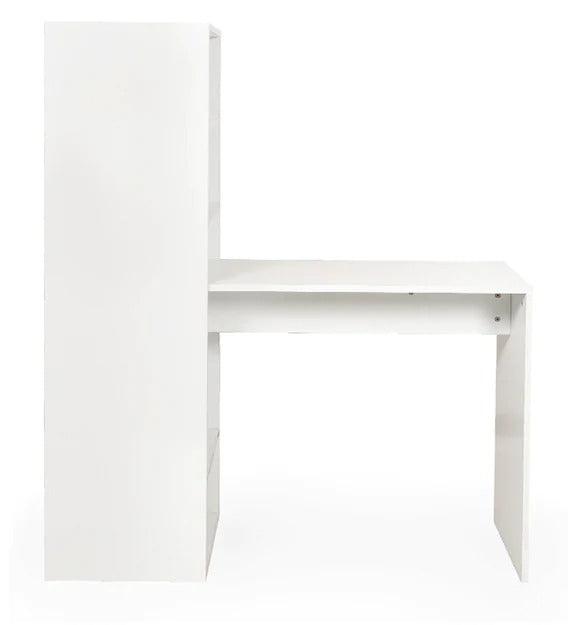 Detec™ Corner Study Table - Frosty White Colour