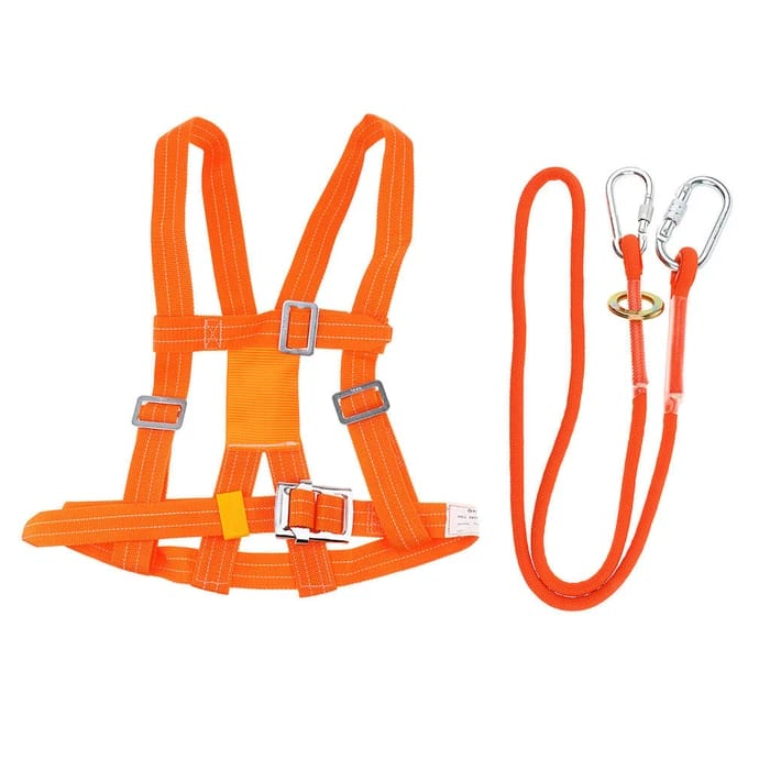 Detec™ Heavy Duty Half Body Climbing Harness Safety Belt Rescue Rope