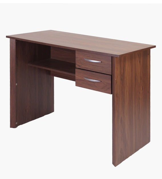 Detec™ Office cum Study Desk - Columbia Walnut Color
