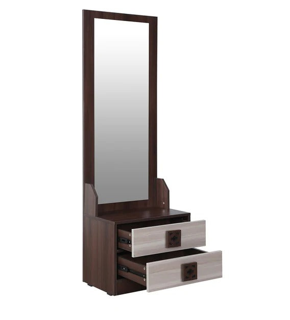 Detec™ Mirror Table - Walnut Color