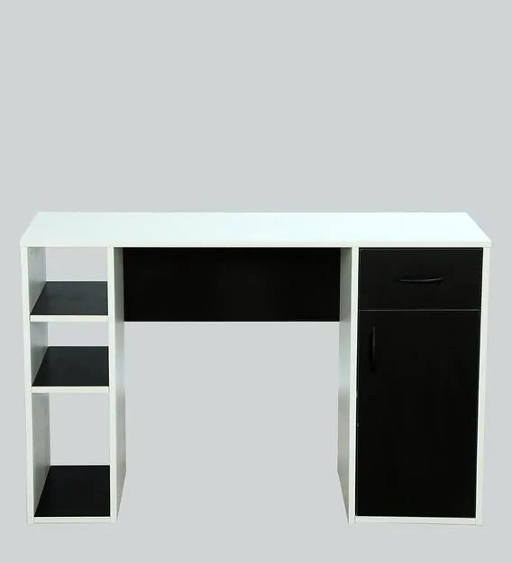 Detec™ Study Table - Wenge & Frosty White Colour