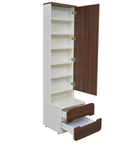 Detec™ Dresser - White Lily & Walnut Finish