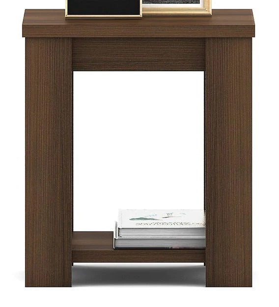 Detec™ Bedside Table - Bronze Walnut Finish