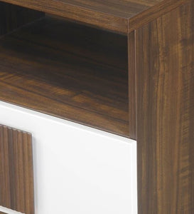 Detec™ Night Stand - Brown Finish