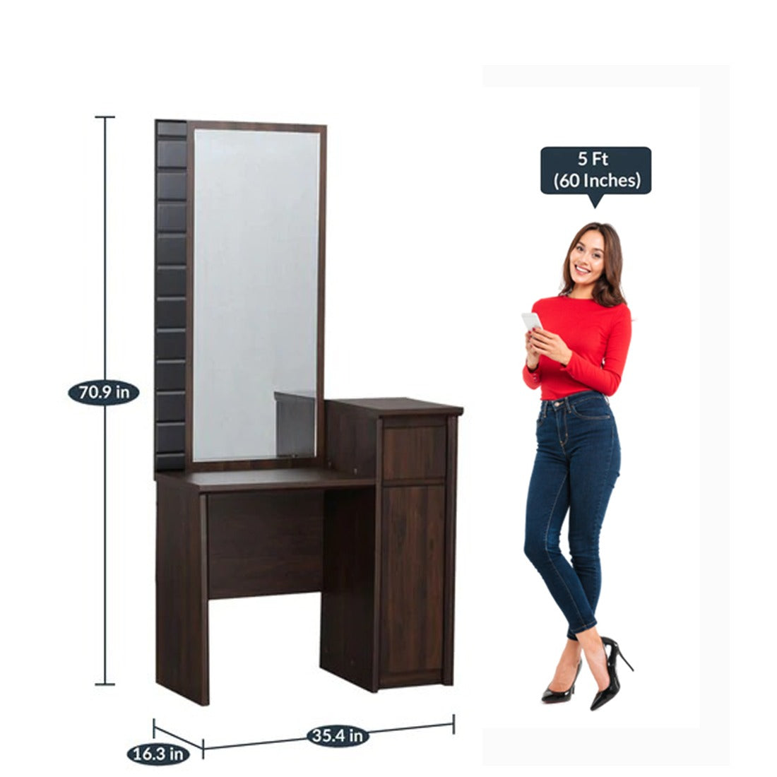 Detec™ Dressing Unit - Brown Color