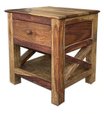 Load image into Gallery viewer, Detec™ Night Stand - Teak Finish