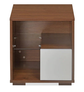 Detec™ Bedside Table - Walnut Finish