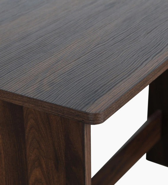 Detec™ Workstation with Drawer - Walnut Finish