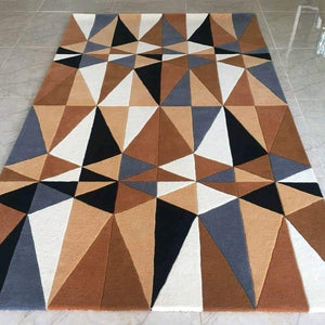Detec™ Abstract Pattern Rug - Multicolor