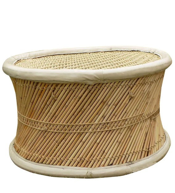 Detec™  Handcrafted Outdoor Muddha table - Beige Color
