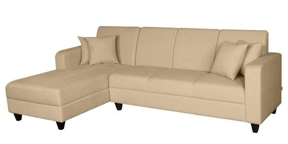 Detec™ Albrecht Sectional Sofas RHS with Lounger-Beige Color