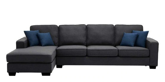 Detec™ Othmar 5 Seater RHS Sectional Sofa - Dark Grey Color