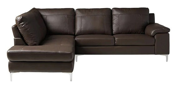Detec™ Veit  4 Seater RHS Sectional Sofa - Brown Color