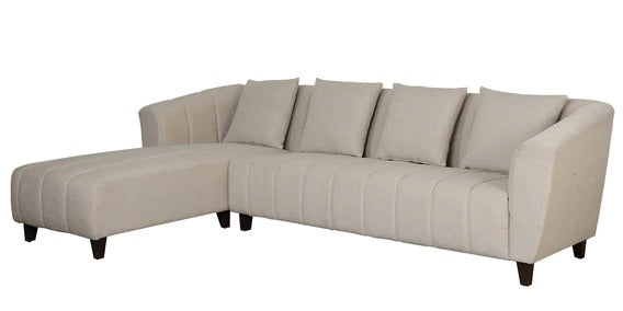 Detec™ Pascal 3 Seater RHS Sectional Sofa - Beige Color