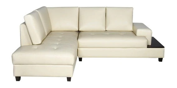 Detec™ Heini RHS L Shape Sofa - cream Color