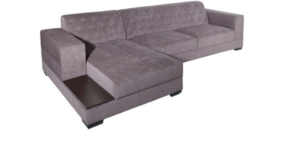 Detec™ Herwig RHS Sectional Sofa - Grey Color