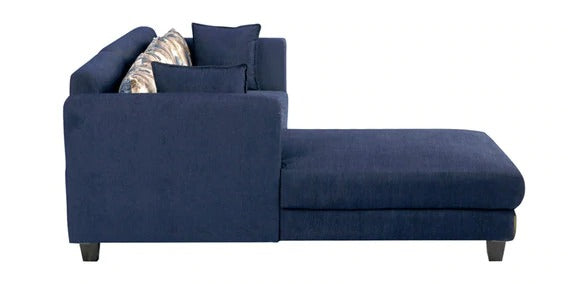 Detec™ Wilfried 3 Seater RHS Sectional Sofa - Blue Color