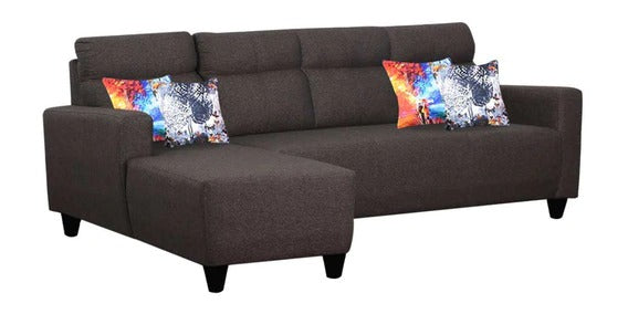 Detec™ Melvin RHS Sectional Sofa - Dark Grey Color