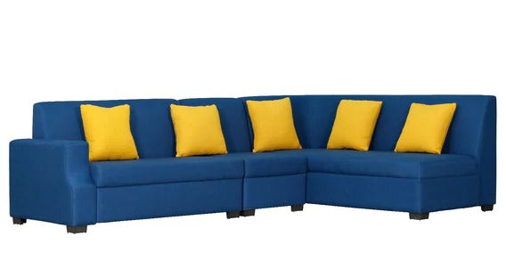 Detec™ Thomas Corner Sofa - Dark Blue Color