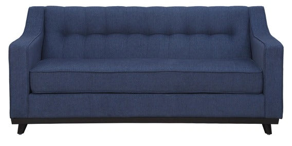 Detec™ Sigismund Three Seater Sofa - Navy Blue Color