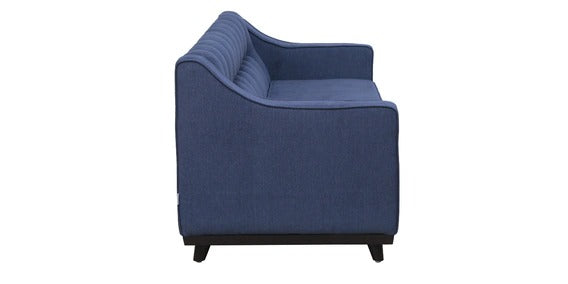 vDetec™ Sigismund Three Seater Sofa - Navy Blue Color