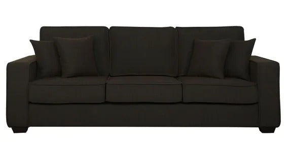 Detec™ Theodor Three Seater Sofa - Chestnut Brown Color