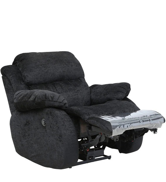 Detec™ Donald Single Seater Recliner - Black Color