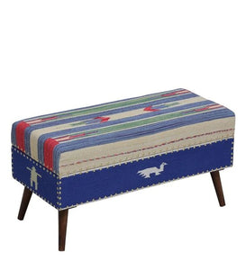 Detec™ Grayson Colorful Bench with Base - Provincial Teak Finish