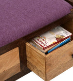 Load image into Gallery viewer, Detec™ Heiner Solid Wood Bench - Natural Finish