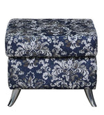 Load image into Gallery viewer, Detec™ Grigory Ottoman - Blue Floral Design