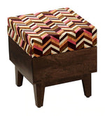 Load image into Gallery viewer, Detec™ Solid Seating Stool (Set of 2) - Walnut Finish