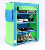 Load image into Gallery viewer, Detec™ Shoe Rack with 4 Shelves and Cover