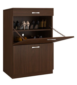 Detec™ Pull-down Shoe Rack with Drawer