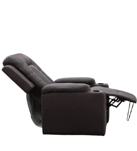 Detec™ Frederick Single Seater Manual Recliner - Brown Color