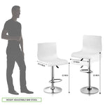 Load image into Gallery viewer, Cafeteria Restaurant Bar Stool Chair (White)
