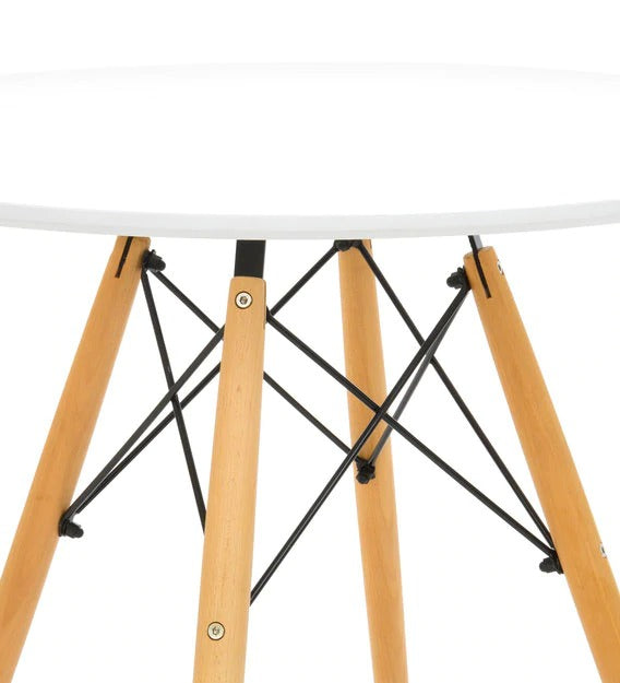 Detec™ End Table - White Color