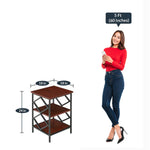 Load image into Gallery viewer, Detec™ End Table - Cherry Finish