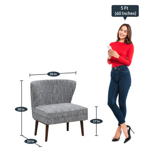 Detec™ Thomas Luxe Chair - Grey Color